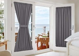 What are the fashionable curtains for the room?