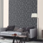 Wallpaper Rasch with a pattern in the interior