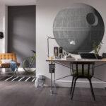 Wandsticker Star Wars XXL Death Star